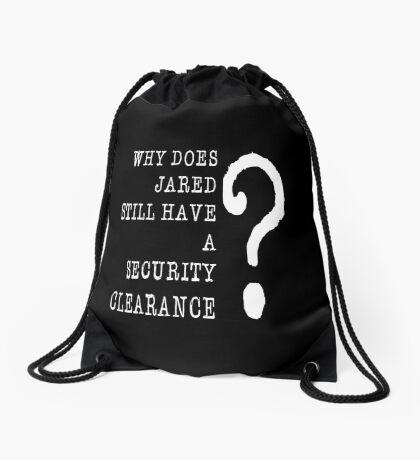 Jared Security Clearance Drawstring Bag