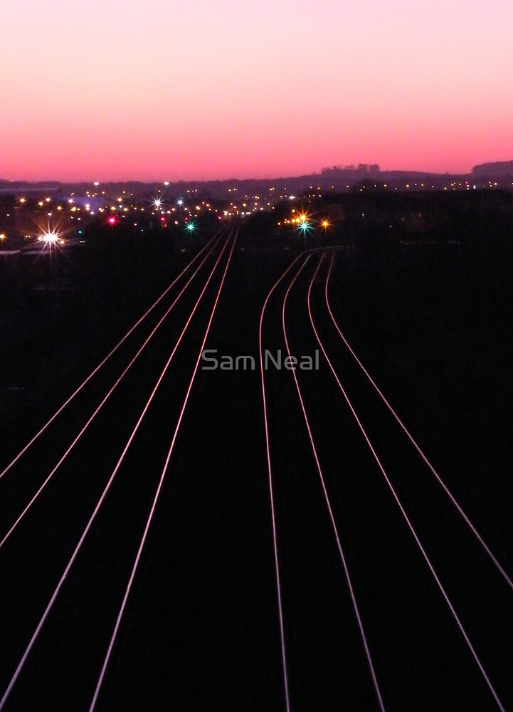Heading To Town by Sam Neal