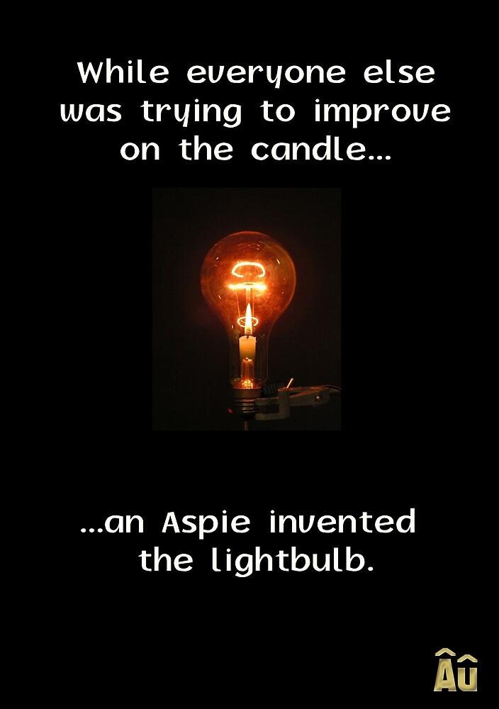 The Aspie & The Lightbulb by -Au-