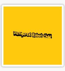 Disfigured Robot Child Sticker/poster Sticker