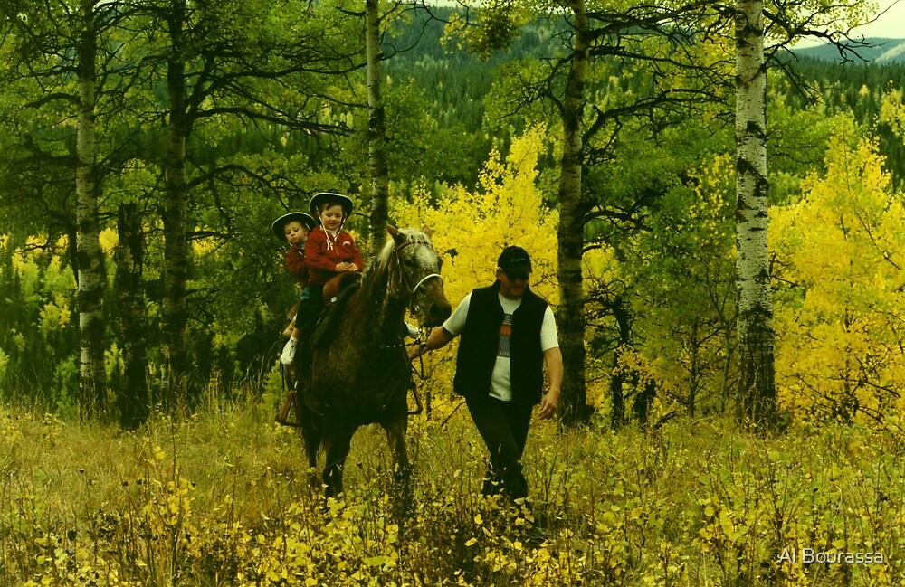 Fall Riders by Al Bourassa