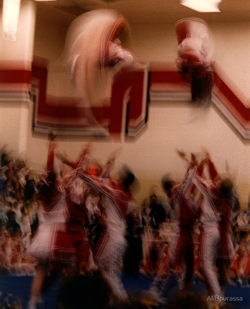Cheer Action by Al Bourassa