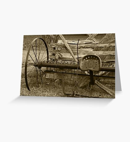 In Its Hay Days II Greeting Card