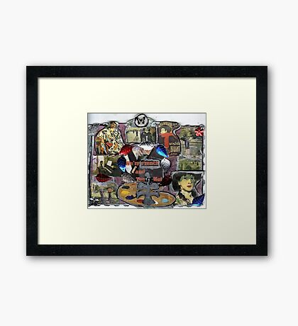 We're French ( & You're Not..) Framed Print