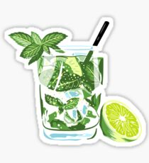 Mojito - cocktail, vodka, tequila, fiesta Sticker
