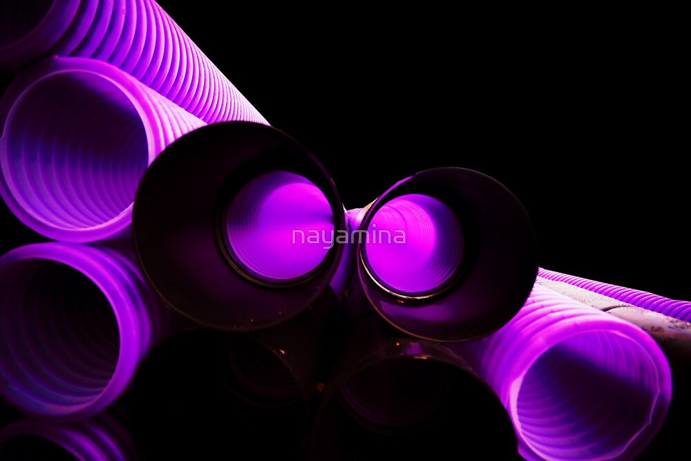stack of purple pipes smaller selection by nayamina