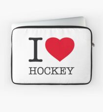 I ♥ HOCKEY Laptop Sleeve