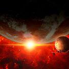Red nova by Dragos Dumitrascu