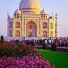 Gorgeous Morning At Taj Mahal  by Neha  Gupta