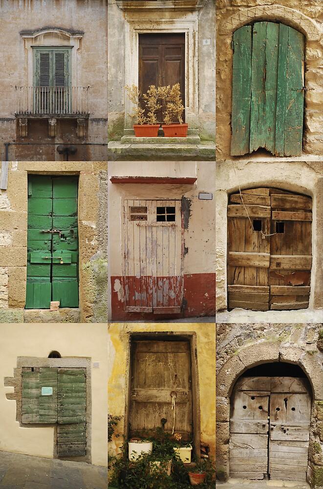 Old Wooden Doors  by jojobob