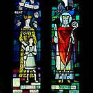 Burnsall Church stained glass window by newbeltane