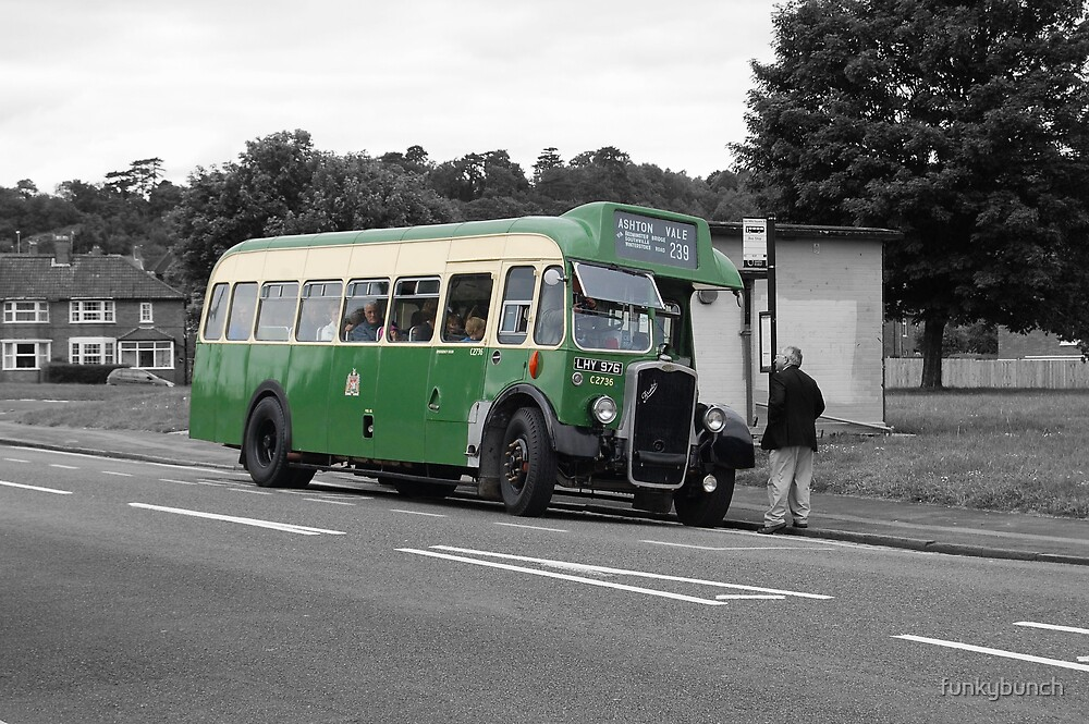 vintage bus by funkybunch