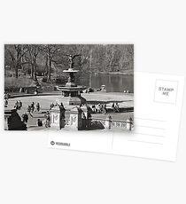 Bethesda Terrace at Central Park,  New York City Postcards