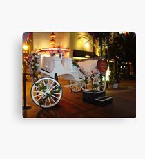 Valentine Carriage Canvas Print