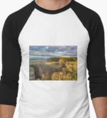 Safe Haven Staithes Harbour Men's Baseball ¾ T-Shirt