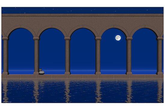 Evening of Deep Blue by Ellen McDonough
