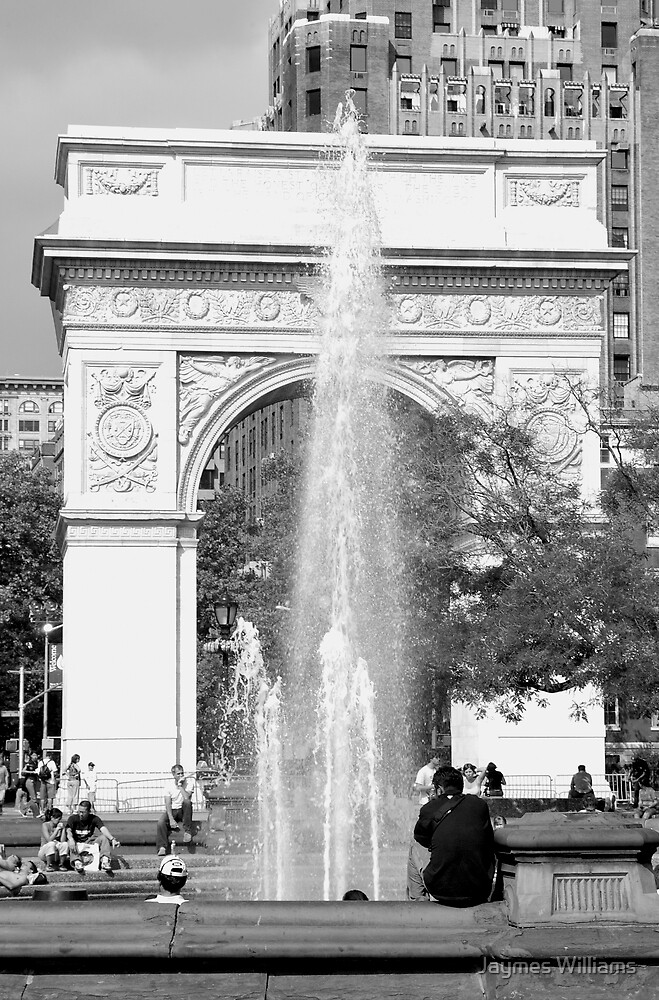 Washington Square Arch, New York City by Jaymes Williams