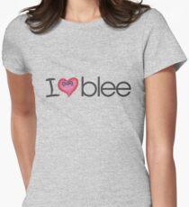 I heart blee Women's Fitted T-Shirt