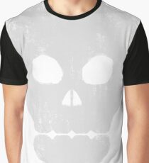 Life Grunge Skull. Graphic T-Shirt