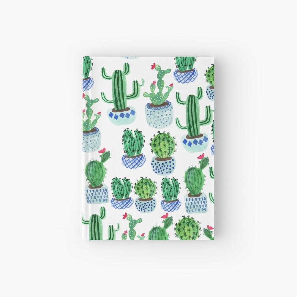 Cactus en acuarela Cuaderno de tapa dura