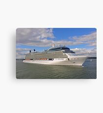 Celebrity Eclipse Cruise Ship Canvas Print