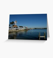 The Pier At Bradenton Beach Greeting Card