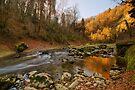 Autumn morning along Cheran river by Patrick Morand