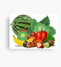 Healthy. Canvas Print