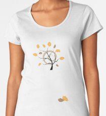 Orange autumn Women's Premium T-Shirt