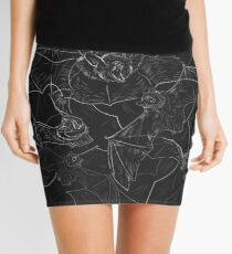 Bat Attack Mini Skirt