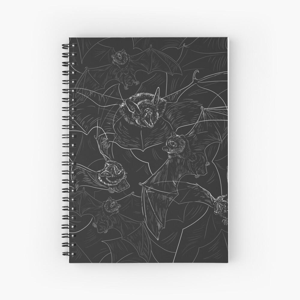 Bat Attack Spiral Notebook