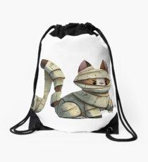 Cat's paper Drawstring Bag