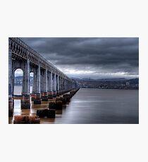 Tay Rail Bridge Photographic Print