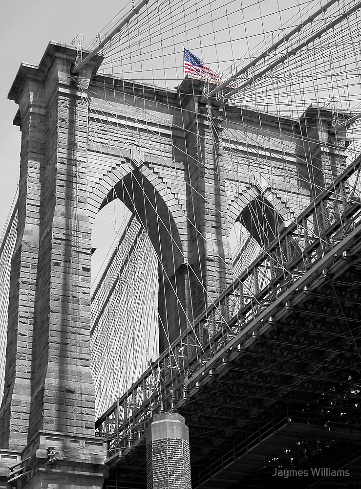 Brooklyn Bridge Number 1 by Jaymes Williams