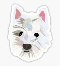 Max the Westie Sticker