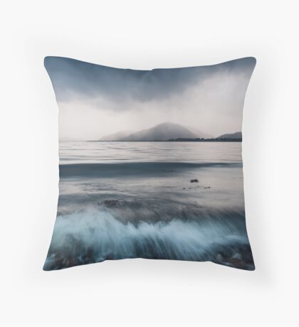 Inverscaddle Storm Throw Pillow