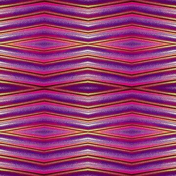 Purple metallic & iridescent snakeskin print by RainBowEscence