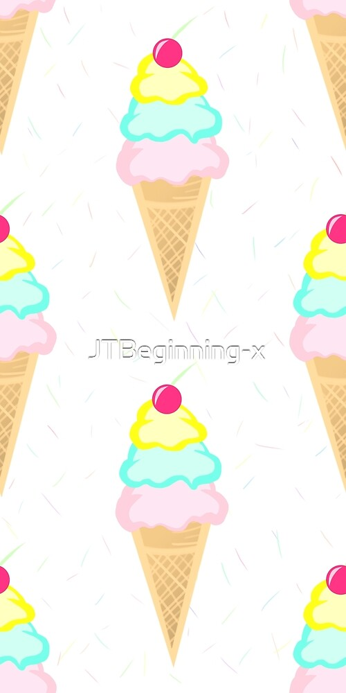 Ice Cream Pattern by JustTheBeginning-x .com
