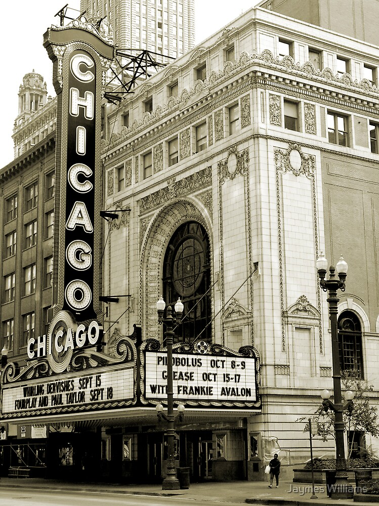 The Chicago Theater by Jaymes Williams