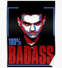 100% Badass Ben Shapiro Poster
