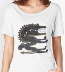 decorative surreal dragon Women's Relaxed Fit T-Shirt