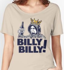 BILLY BILLY - BUD LIGHT - PATRIOTS - LLY DILLY Women's Relaxed Fit T-Shirt