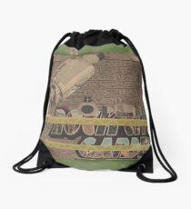 Rough Craft Giraffe Drawstring Bag