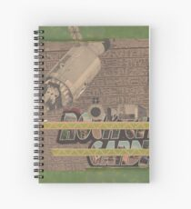 Rough Craft Giraffe Spiral Notebook