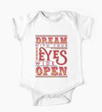 Dreaming With Eyes Wide Open One Piece - Short Sleeve