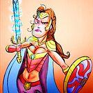 female Super Hero by Extreme-Fantasy