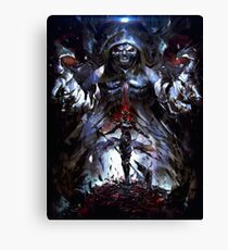 OVERLORD DEATHKNIGHT Canvas Print