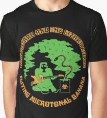 King Gizzard & The Lizard Wizard - Flying Microtonal Banana Graphic T-Shirt