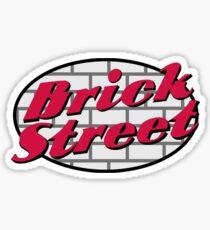 Brick Street Sticker