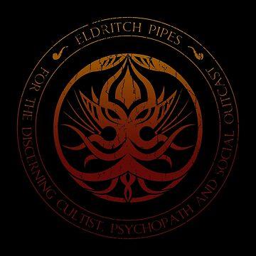 Eldritch Pipes Sigil (aged, hellfire) by Deefurdee